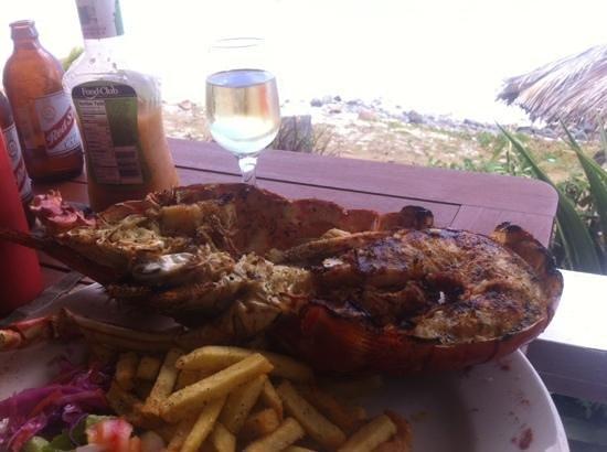 Dennis Cocktail Bar & Restaurant: ze lobster