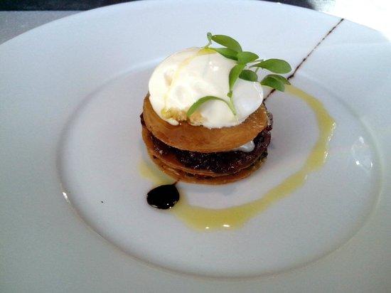 Horisont Restaurant & Bar: луковый пирог