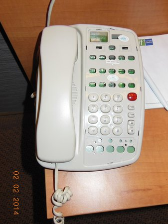 Holiday Inn Express Braintree: The phone as described