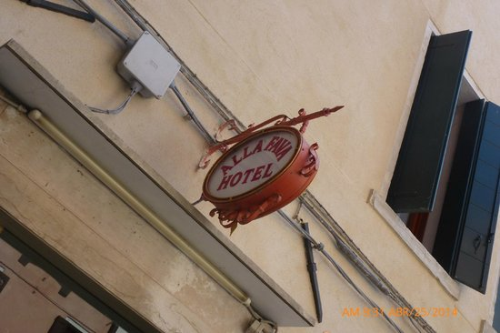 Hotel alla Fava: Ingreso