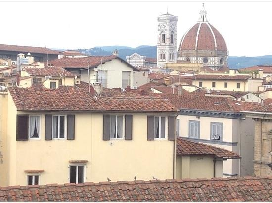 Antica Torre di Via Tornabuoni : room with a view...or three!