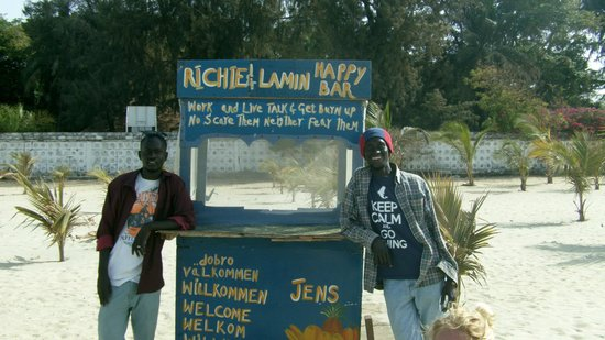 Laico Atlantic Banjul Hotel: Richie & Rappa - Top Juice Boys