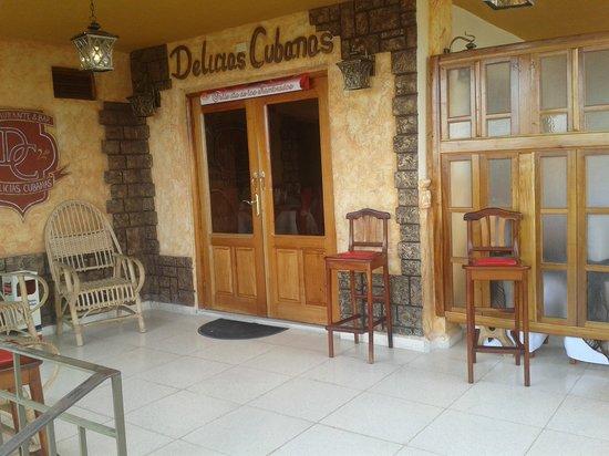 Delicias Cubanas: entrada