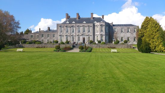 Castle Durrow : view from back garden