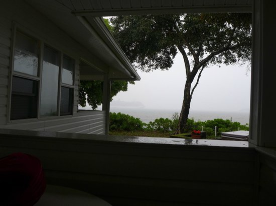 The Bay House: View from the lanai