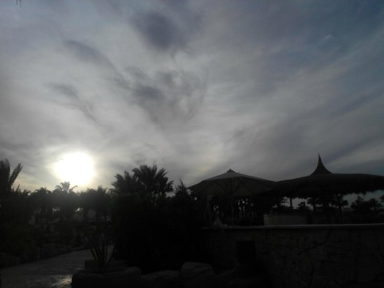 Lotus Bay: my last evening