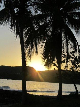 Grand Paradise Samana: My last day sunrise