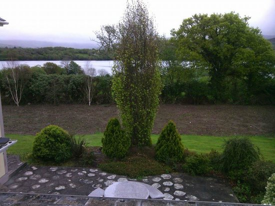 Abbey Court B&B: The view from our room at Abbey Court in Kenmare Ireland