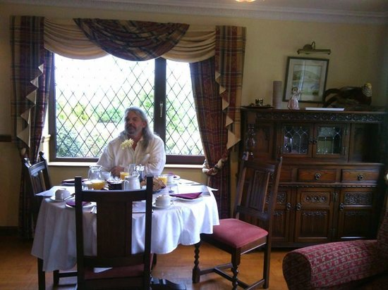 Abbey Court B&B: The breakfast room at Abbey Court in Kenmare Ireland