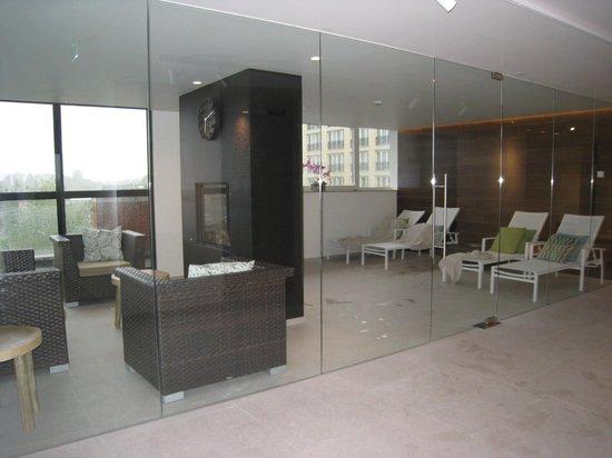 Van der Valk Hotel Maastricht: solarium .
