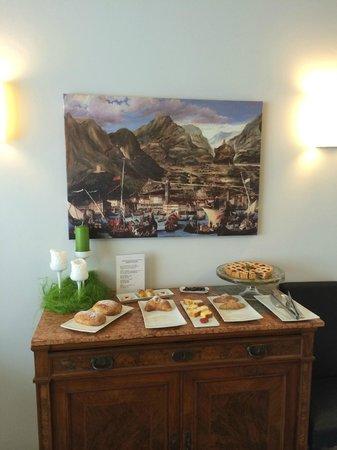 Hotel Villa Enrica: frühstück