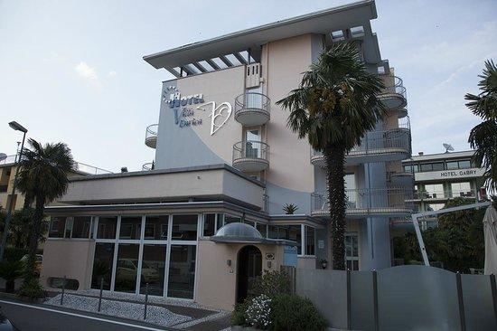 Hotel Villa Enrica: von aussen