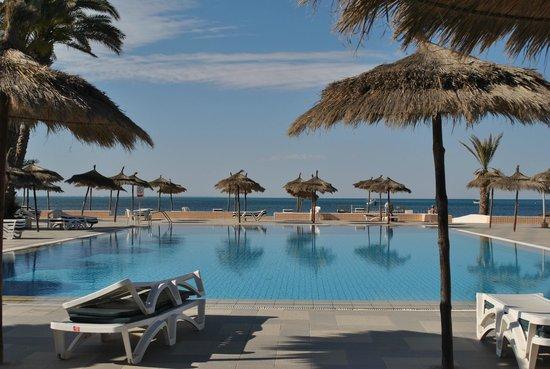 El Mouradi Djerba Menzel: Mooi uitzicht op zee