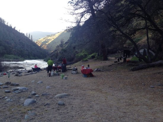ARTA Whitewater Rafting Day Trips: Tuolomne evening on the river