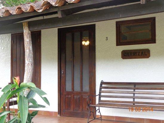 Hotel Hacienda El Jaral: La habitacion de frente