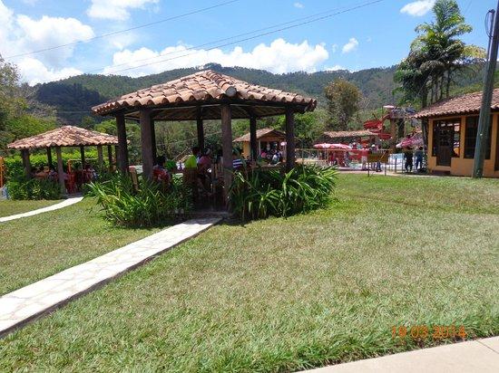 Hotel Hacienda El Jaral: Toboganes.