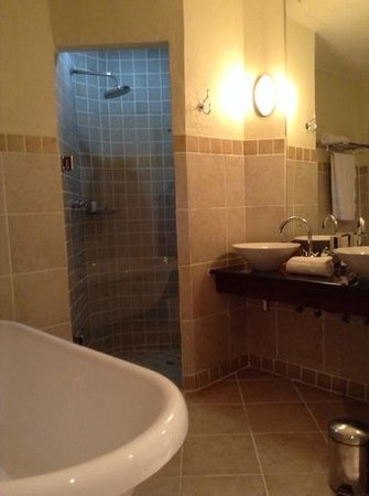 The David Livingstone Safari Lodge & Spa : Livingstone bathroom
