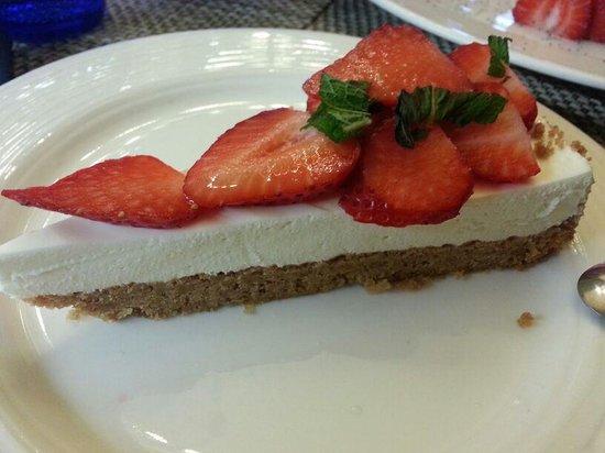 Il Desco Bistro : cheesecake alle fragole