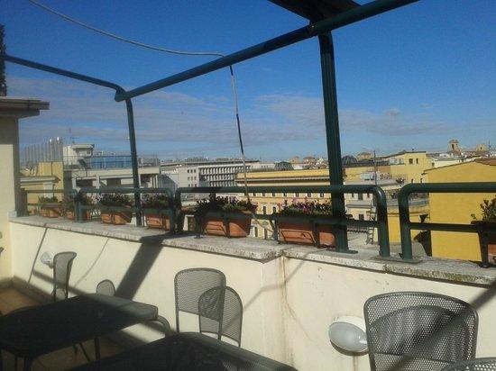 Hotel Corallo: Rooftop- breakfast area