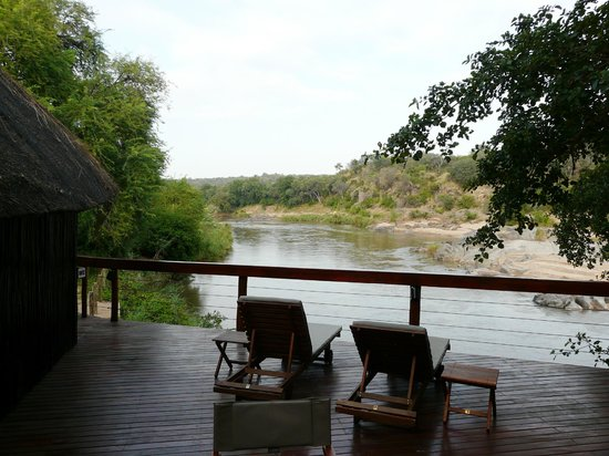 Bushriver Lodge : View from main deck
