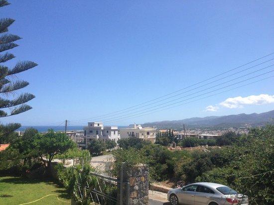 Villa Mare Monte : Views over looking Malia