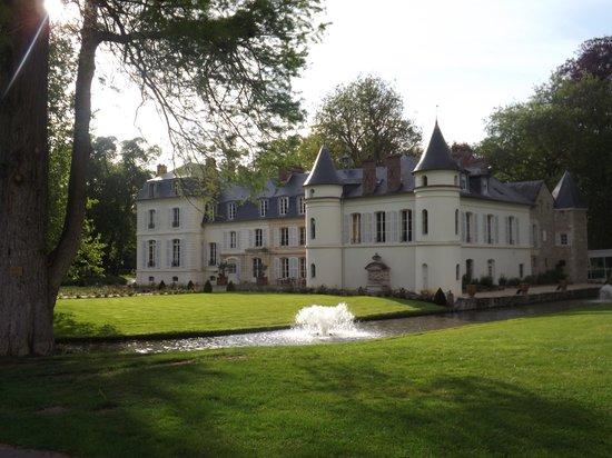 Chateau Saint Just : photos du château lors de notre promenade