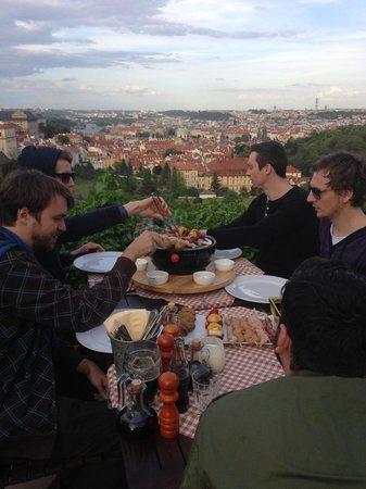 Restaurant Bellavista: party time