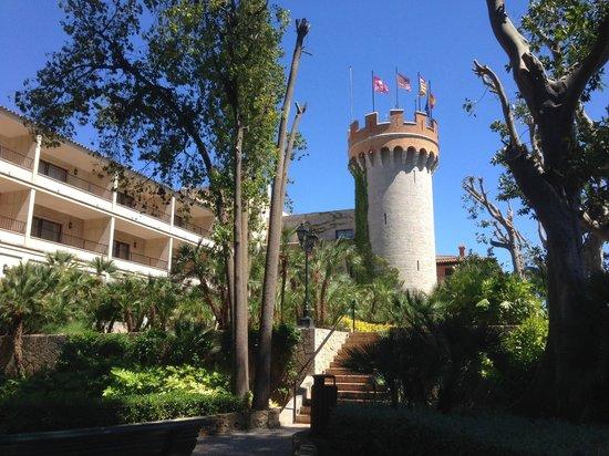 Castillo Hotel Son Vida, a Luxury Collection Hotel: Aussenansicht