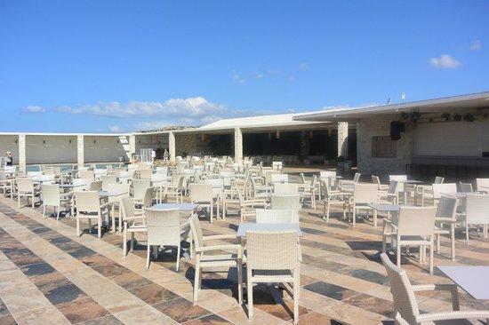 Ostria Resort & Spa : terrasse