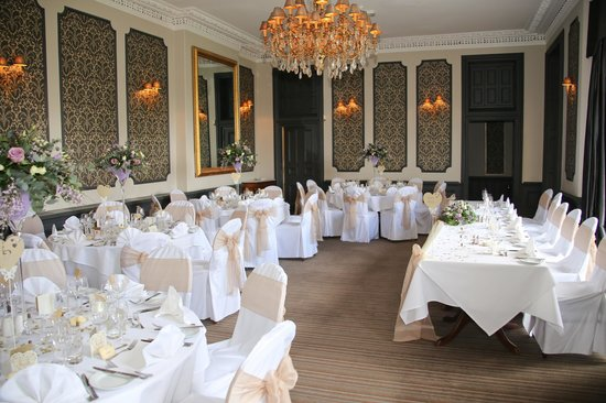 The Mount Somerset Hotel: All laid up for wedding breakfast