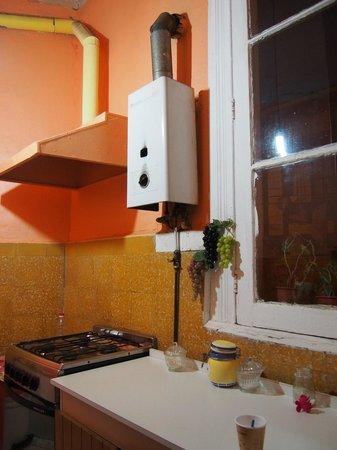 Hostal NuevaMente : Kitchen