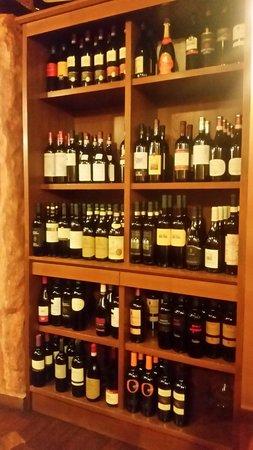 Le Muraccia: Una piccola parte dei vini