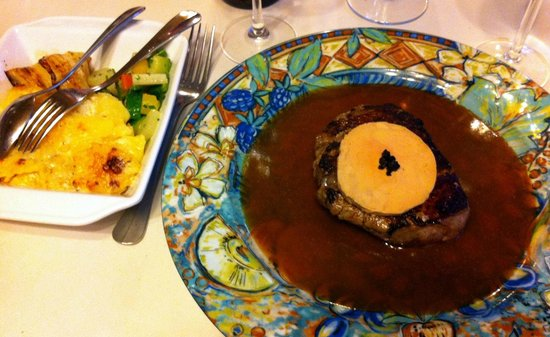 Bistrot du Boeuf Rouge : Main meal