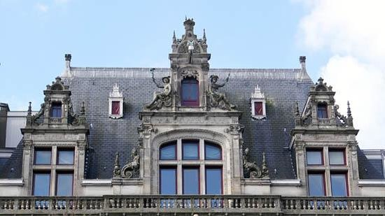 Herengracht: the façade