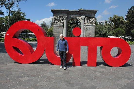 Quito Old Town: Quito Ecuador Central Park