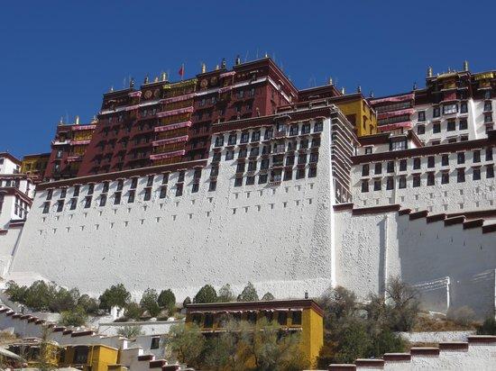Palais de Potala : Potala Palast Tomb Stupas_3 D Mandalas