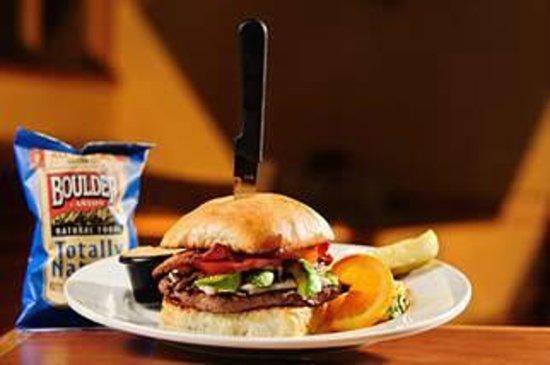 The Good Egg : The Bacado Bun Burger