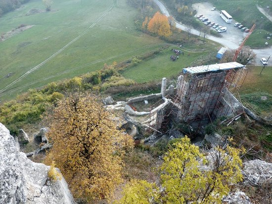 Kalnik, Croatia: view from the old castle