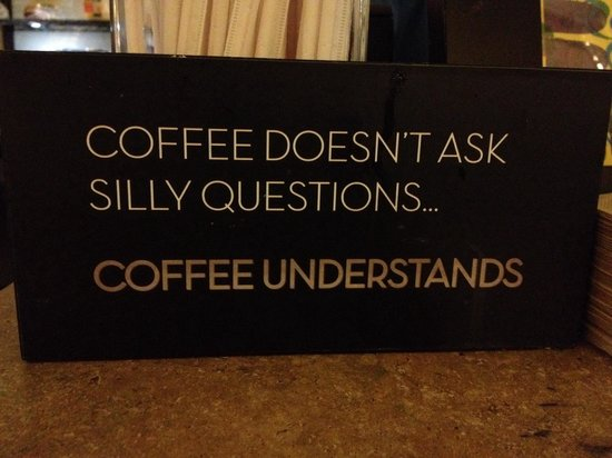 Berea Coffee & Tea: On the counter