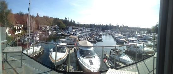 Windermere Marina Village : view from the terrace