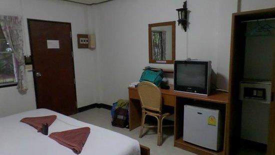 Baan Kaew Guesthouse: unser Zimmer