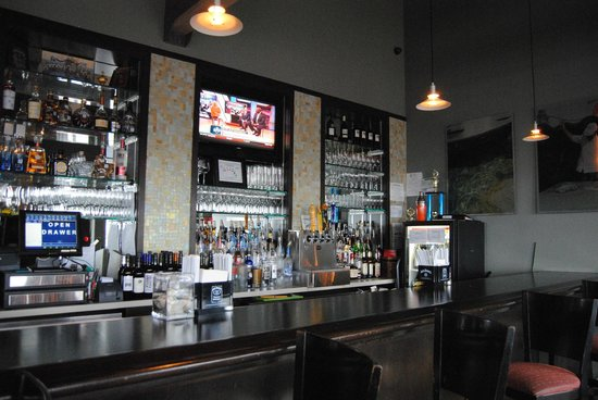 Olympia Grill: Beautiful bar