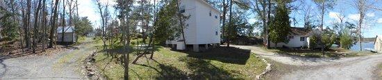 Horseblock Point Cottages: cottage arrière