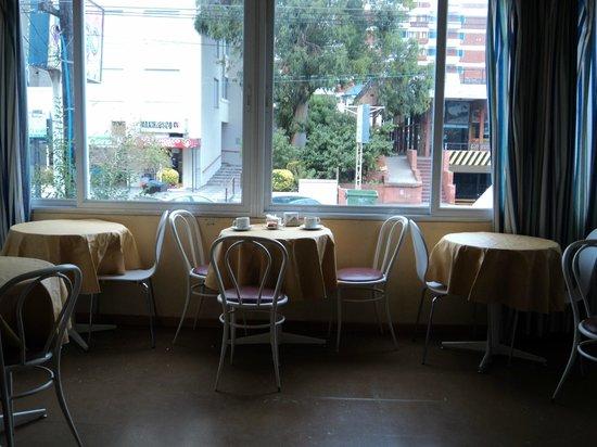 Hotel Saint James: Vista del Comedor