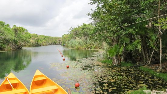 LabnaHa Cenotes & Eco Park: Zip Lining across the Lagoon