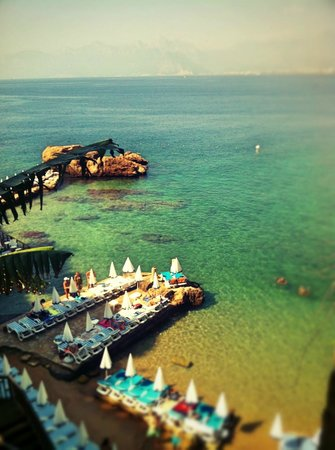 Puding Marina Residence: Пляж закрытый