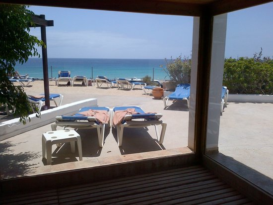 Fuerteventura Princess: view from sauna to sea