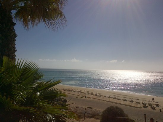 Fuerteventura Princess: breakfast at 9am with sea view