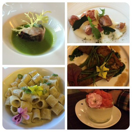 Relais Poggio Ai Santi: Fine dining in the family run restaurant