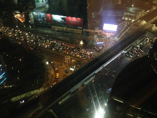 The Continent Hotel Bangkok by Compass Hospitality : View from our suite room